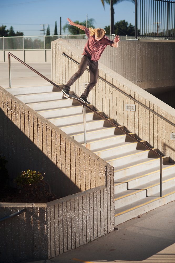 Steven Farmer, Lipslide, Santa Ana, California. Photo by Phil Blair