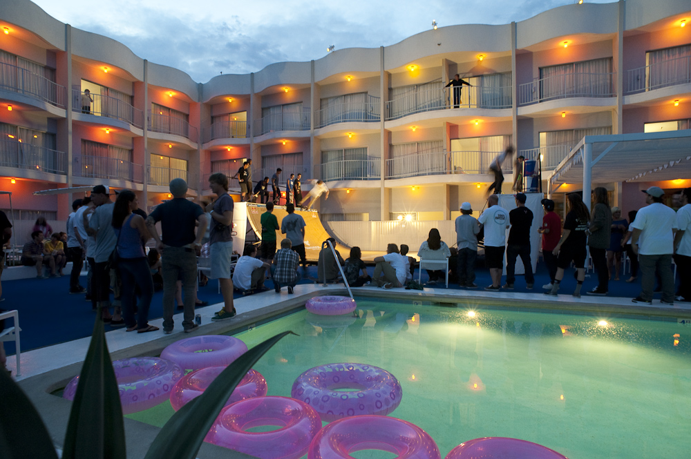 Skateboarder Magazine S Suset Rampage At The Standard Hotel Hollywood Ca